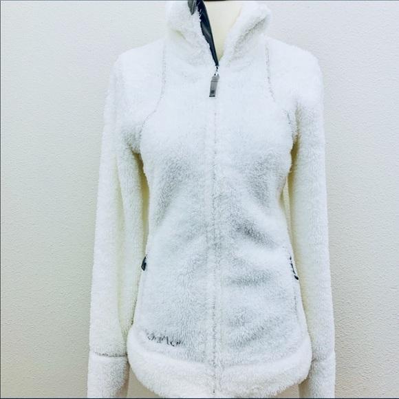 Burton Jackets & Blazers - Burton Full Zip Dry Ride Snow White Fleece Jacket